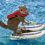 Twiggy - The Water Skiing Squirrel.